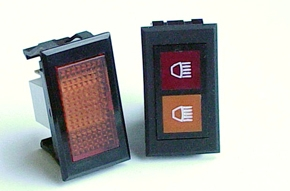 Rectangular Indicator Lights - Series16_17