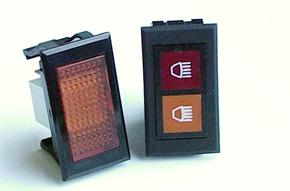 Rectangular Indicator Lights - Series16_17